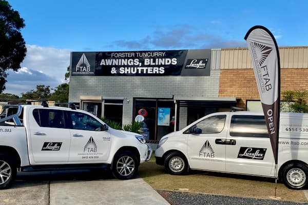 Forster Tuncurry Awnings Blinds Shutters shop in Tuncurry